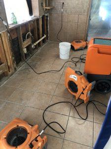 water-damage-job-site-equipment-restoration